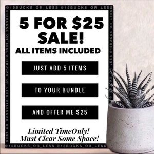 Sale! All items included!